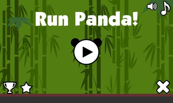 Run Panda! poster