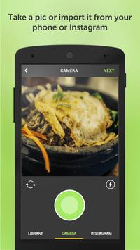 KUNGFOOD Share your food pics apk screenshot