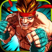 ikon Street tinju: kungfu pejuang