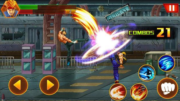 Street tinju: kungfu pejuang screenshot 9