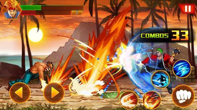 Street tinju: kungfu pejuang screenshot 1
