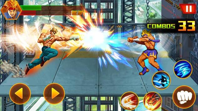 Street tinju: kungfu pejuang screenshot 2