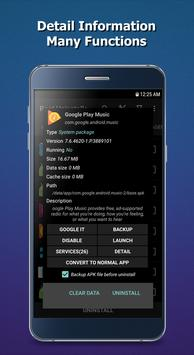 System App Uninstaller (Root) apk screenshot