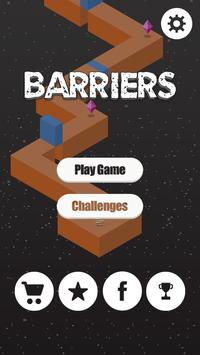Barriers poster