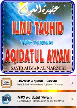 Ilmu Tauhid Terjemahan Aqidatul 'awam screenshot 4