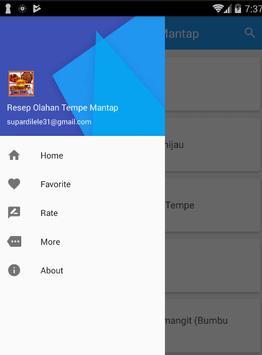 Resep Olahan Tempe Mantap screenshot 1