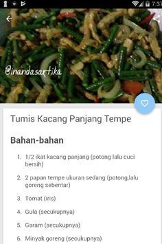 Resep Olahan Tempe Mantap screenshot 2