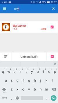 Easy App Uninstaller apk screenshot