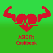 ASIOFit Cookbook - healthy recipes for every day icon