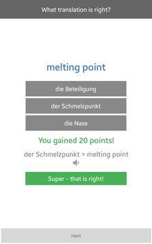 Wordsearch English/German apk screenshot