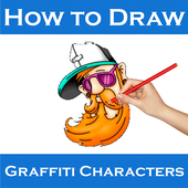 How To Draw Graffiti Character icon