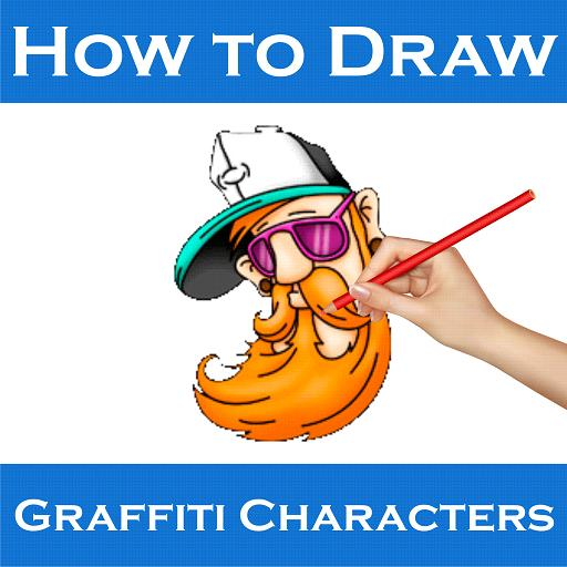 How To Draw Graffiti Character poster