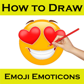 How to Draw Emoji Emoticons icon