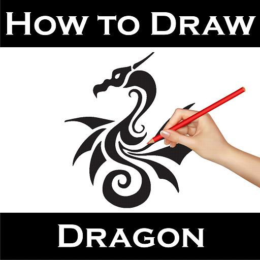 How To Draw Dragon poster
