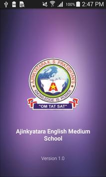 Ajinkyatara English Medium School poster