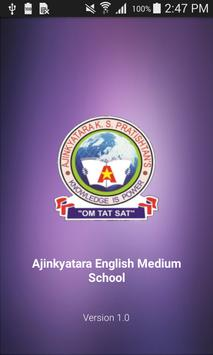 Ajinkyatara English Medium School poster