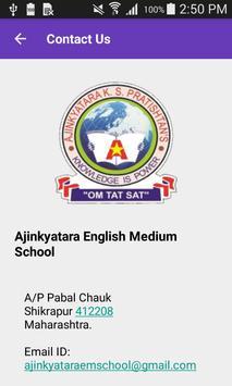 Ajinkyatara English Medium School apk screenshot