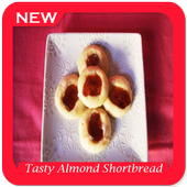 Tasty Almond Shortbread Cookie icon