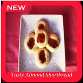 Tasty Almond Shortbread Cookie icon