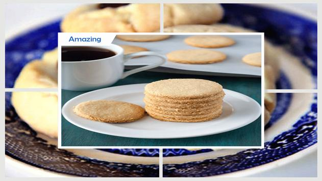 Tasty Almond Shortbread Cookie apk screenshot