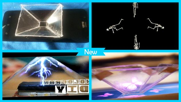 Awesome DIY Hologram Projects poster