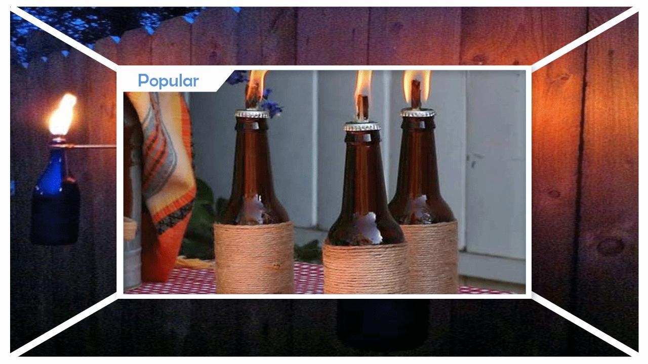 Awesome DIY Tiki Torches poster
