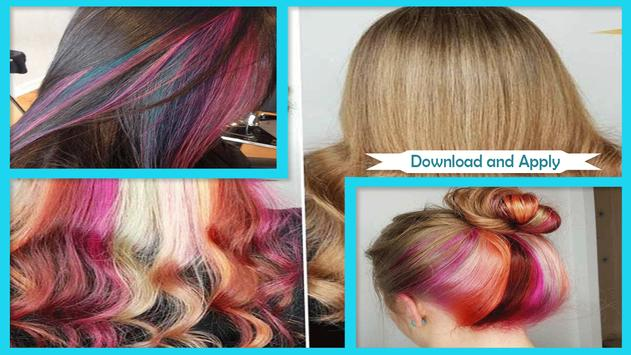 Beauty Hidden Rainbow Hairstyles poster