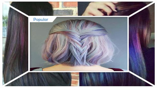 Beauty Hidden Rainbow Hairstyles screenshot 1