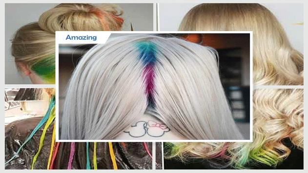 Beauty Hidden Rainbow Hairstyles screenshot 2