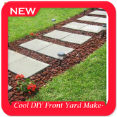 Cool DIY Front Yard Makeover Ideas icon