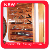 Clever DIY Display Cabinet Project Ideas icon