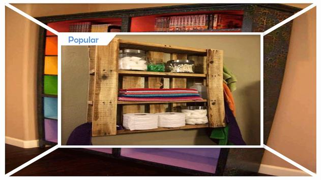 Clever DIY Display Cabinet Project Ideas apk screenshot