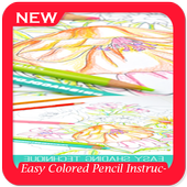 Easy Colored Pencil Instruction icon