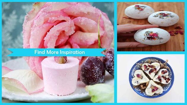 Easy DIY Rose Milk Bath poster