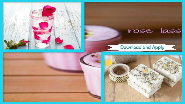 Easy DIY Rose Milk Bath screenshot 1