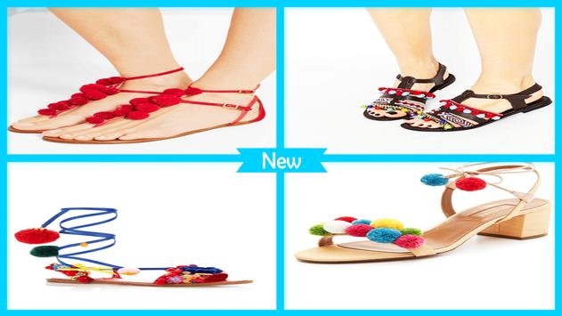 Easy DIY Raffia Pom Pom Sandals screenshot 3