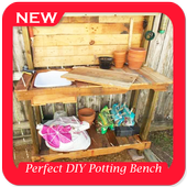 Perfect DIY Potting Bench Project icon