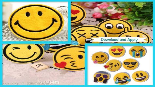 Simple DIY Emoji Patches screenshot 1