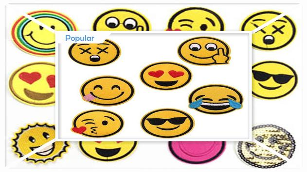 Simple DIY Emoji Patches apk screenshot