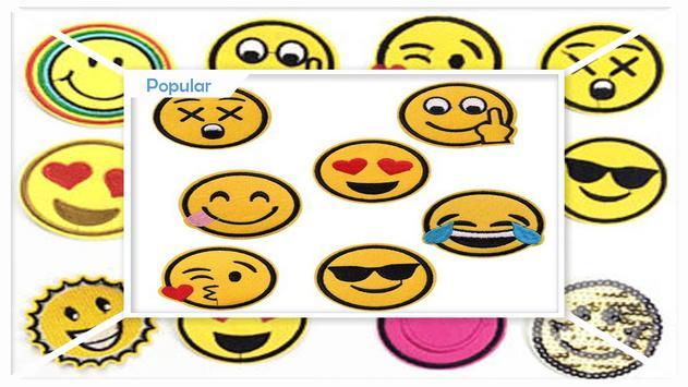 Simple DIY Emoji Patches screenshot 2