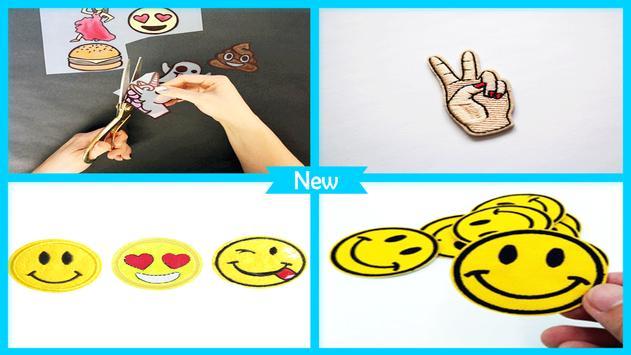 Simple DIY Emoji Patches screenshot 4
