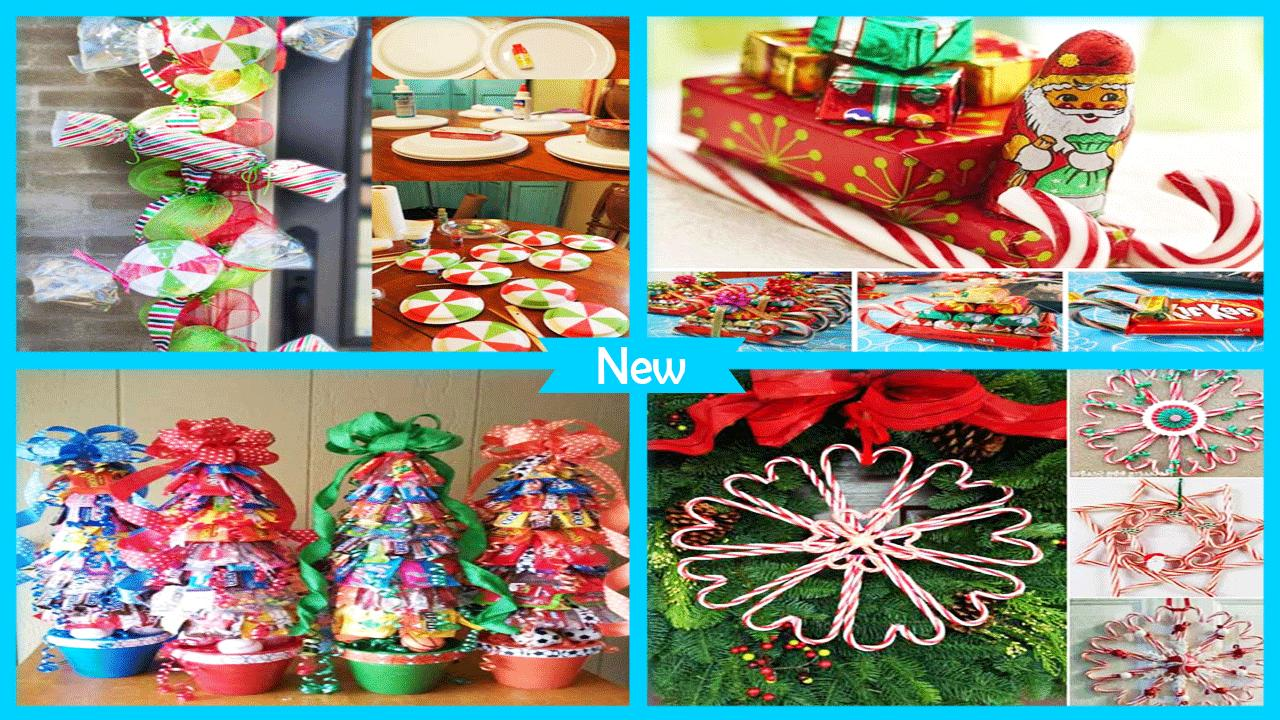 Sweet DIY Chirstmas Candies poster