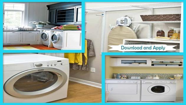 Stylish Laundry Room Design Ideas poster