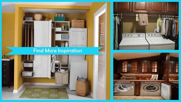 Stylish Laundry Room Design Ideas apk screenshot