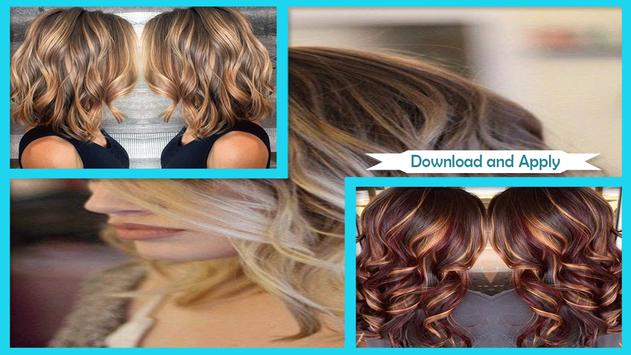 Summer Hair Colors for women poster