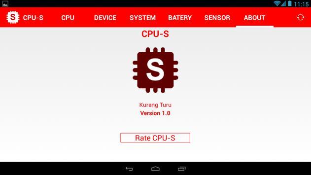 CPU-S apk screenshot