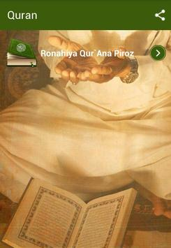 Qur'ana Piroz Bi poster