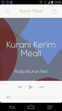 Kuran Meali poster