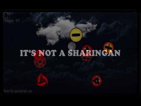 Tap Only Sharingan apk screenshot