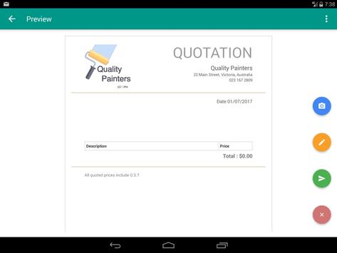 The Business Quote Solution screenshot 12